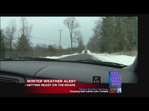 Driving safe in snow and ice