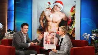 James Franco and His Cat Calendar