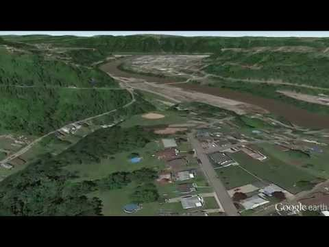 Liberty Borough PA 1080p fly-over with Google Earth Pro