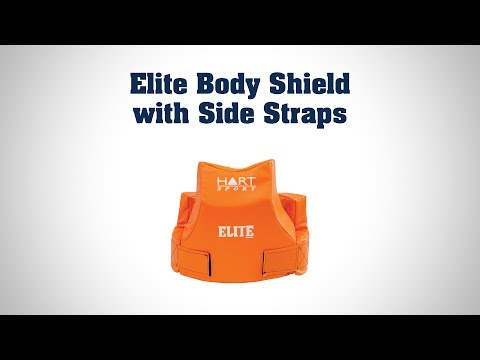 Elite Body Shield with Side Straps