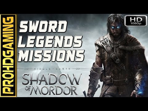 Middle Earth: Shadow Of Mordor (PC) I Sword Legends Guide (with Bonus Obj) I Best Graphics [HD]