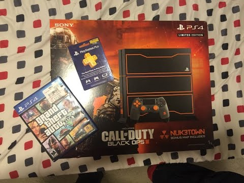 Call Of Duty: Black Ops III PS4 Limited Edition Bundle Unboxing!