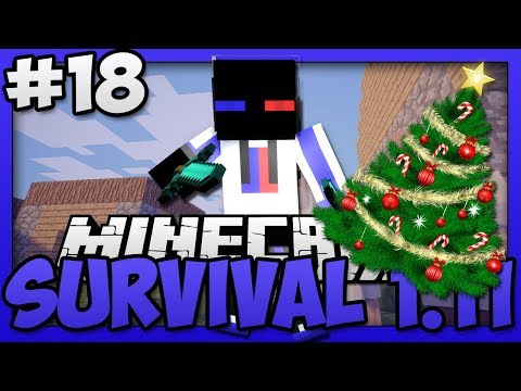 Minecraft - Survival Vanilla Version 1.11 (Singleplayer)  - A Merry Christmas Timelapse!