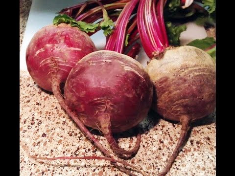 A Simple Way To Cook Beets (Microwave)