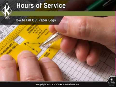 Hours of Service: How to Fill Out Paper Logs Course Preview