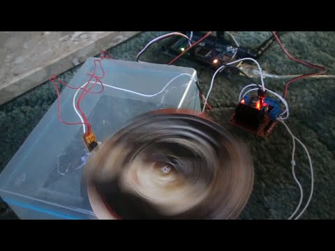 Arduino PID motor speed controller - Casual demo (part 1/2)