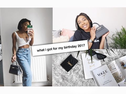 WHAT I GOT FOR MY BIRTHDAY 2017 | YSL, TEDDY BLAKE, TOPSHOP, URBAN OUTFITTERS + MORE