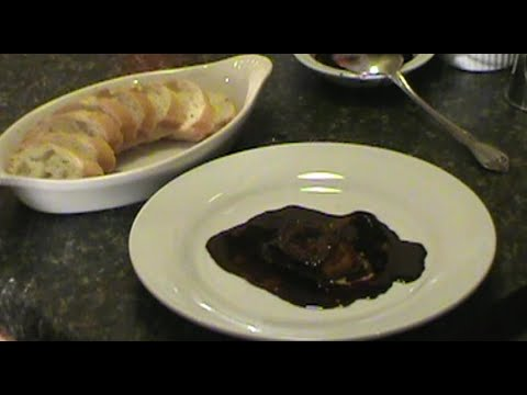 Foie Gras With Red wine Balsamic reduction Recipe for Appetizer