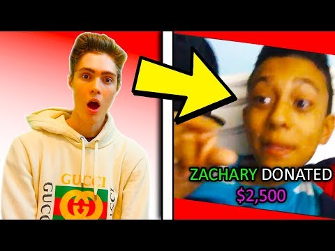 THIS ROBLOX YOUTUBER WANTS TO HACK ME! | Donating To Roblox Streamers | Roblox Funny Moments