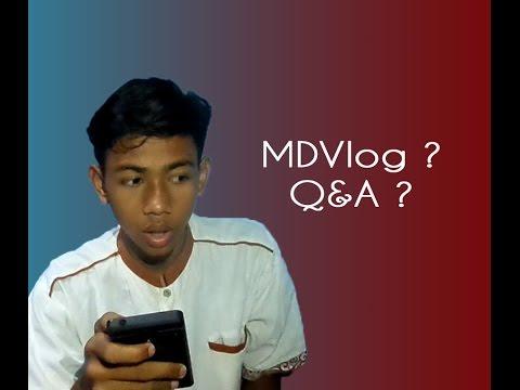 MDVlog #1 - Pertanyaan Nya bikin baper !!!