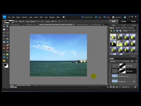 Photoshop Elements 9 Standard-editoren, auto-funktioner og RAW