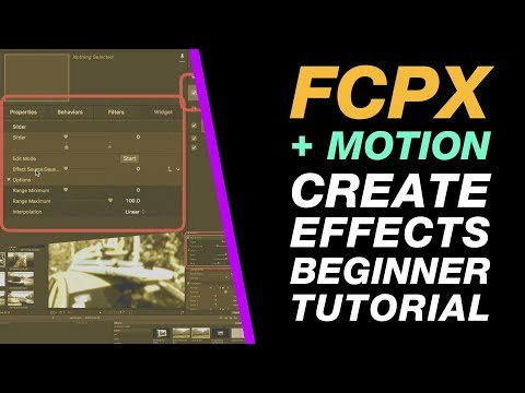 Motion & Final Cut Pro X: Create a Blur and Tint Effect from Scratch Beginner Tutorial