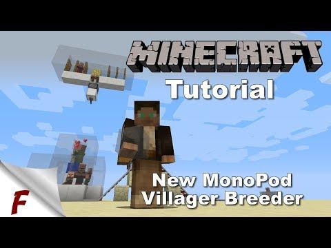 ✅ Minecraft Infinite Villager Breeder Tutorial 1.13 1.12, 1.12.1 & 1.12.2 EASY to Build