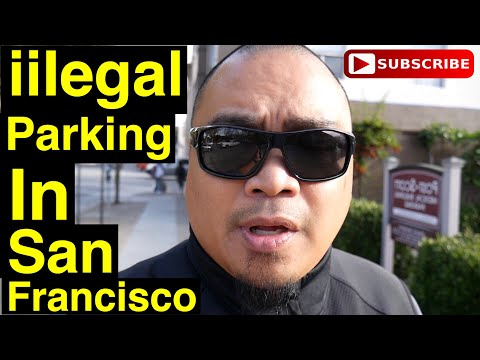 Eric B's Daily Vlogs #226 - Illegal parking in San Francisco