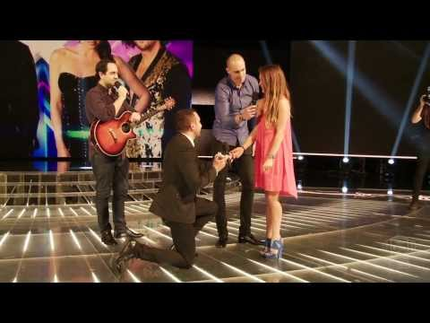 Marriage proposal on The X Factor