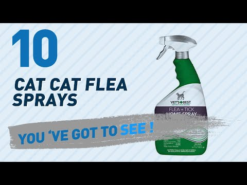 Top 10 Cat Cat Flea Sprays // Pets Lover Channel Presents: