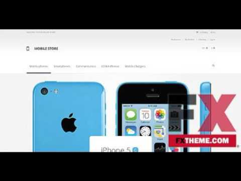 Mobile Store Magento Theme by Cowboy TMT by Rickey Wilfrid