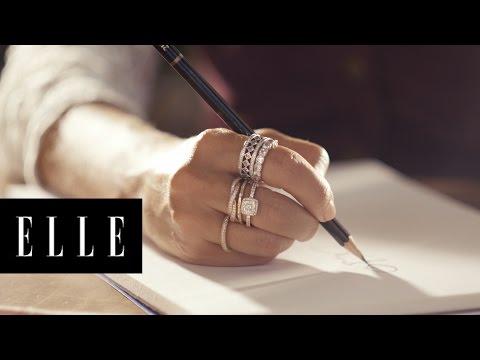 What Inspires Fashion Illustrator Dallas Shaw   ELLE + Pandora
