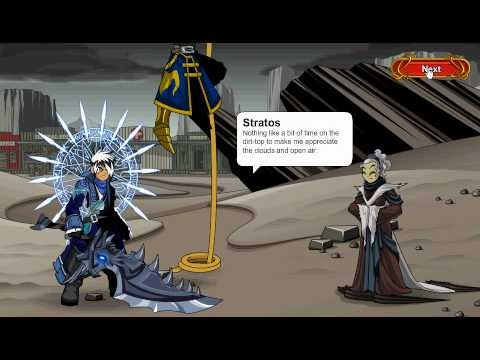 AQW: Skyguard Cutscene Part 4 (Week 1)