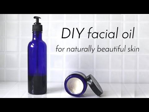 DIY FACIAL OIL | All Skin Types (sensitive, acne prone, ageing)