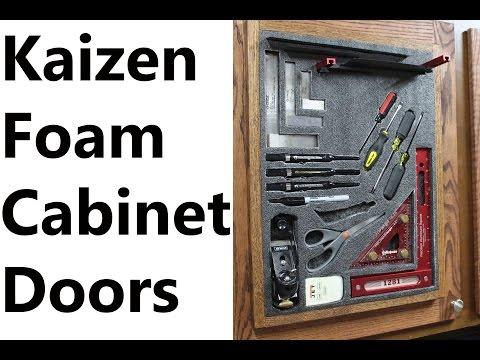 Kaizen Foam Cabinet Doors