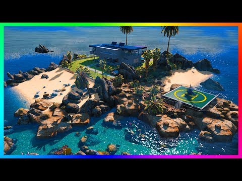 Owning A Private Island With A Mansion Villa In GTA 5!