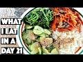 WHAT I EAT IN A DAY #21 VEGAN bibimbap...! | #12 (30 Videos in 30 Days) ♥ Cheap Lazy Vegan
