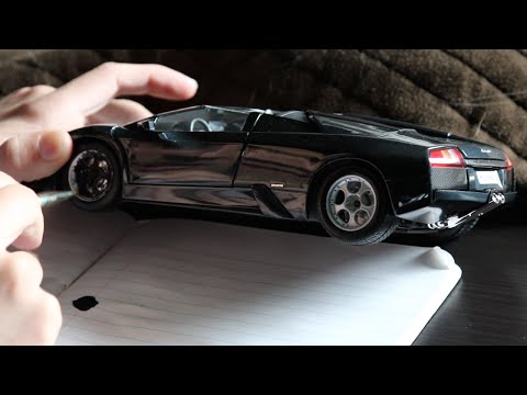 How To Paint Parts Of Your Model Car
