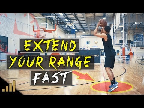 MUST SEE! How to EXTEND YOUR RANGE FAST! 3 Easy Basketball Shooting Drills