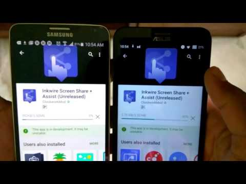 Share you Phone's Screen with Another Phone