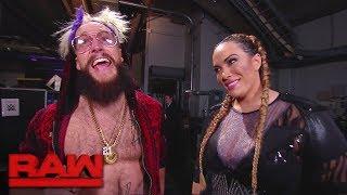 Nia Jax slides into Enzo Amore