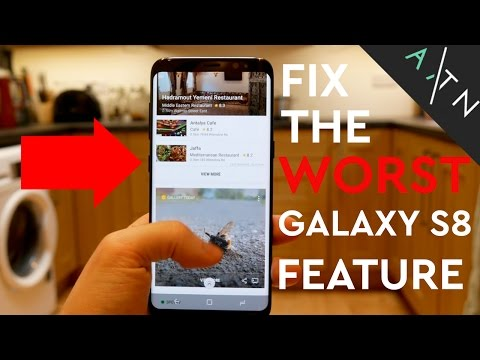The WORST Galaxy S8 Feature & How to FIX IT (Re-Map Bixby Button)