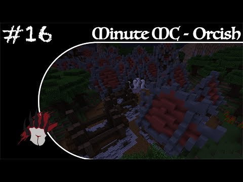 Minute Minecraft - Time Lapse - Orcish Village - Ep.16