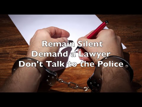 Dont talk to the police - Plymouth Lawyer