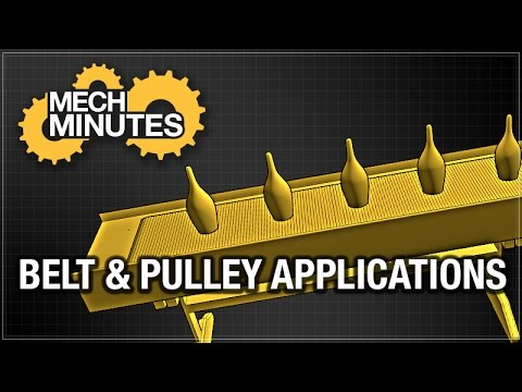 TIMING BELTS & PULLEYS PT. 6: BELT & PULLEY APPLICATIONS | MECH MINUTES | MISUMI USA