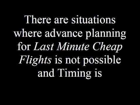 The Importance of Last Minute Cheap Flights.avi