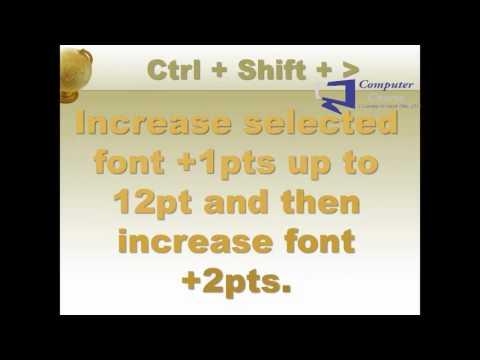 Microsoft Word  2013 All Shortcut Keys