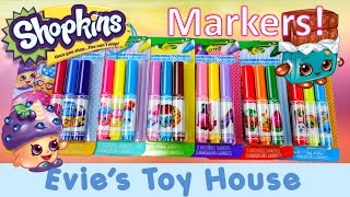 Crayola Coloring Shopkins Markers Set Review