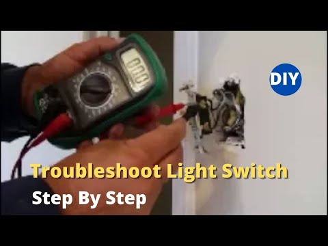 How To  Troubleshoot  Light Switch And Replace A Light Switch - Step By Step