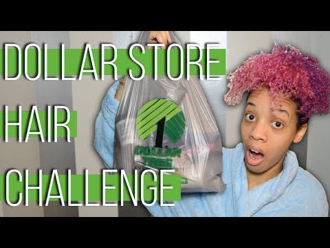 Curly Hair Routine for only $10.00! | Dollar Store Hair Challenge