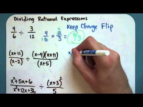 Dividing Rational Expressions (9-3-3)
