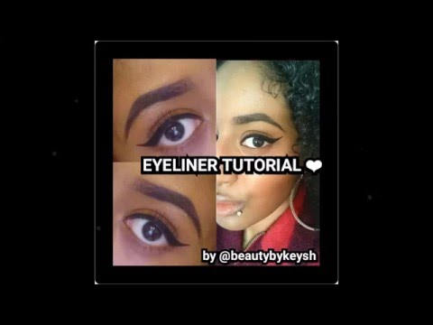 How to: Winged eyeliner tutorial/ slay your Eyeliner like a PRO