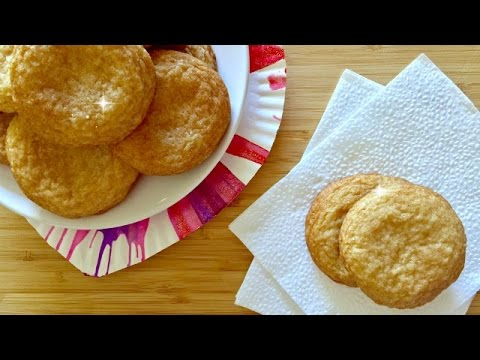 How to Make SNICKERDOODLES - Classic Cookies with Cinnamon Sugar