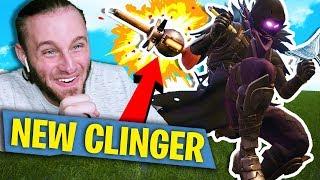 NEW CLINGER ITEM! Fortnite: Battle Royale