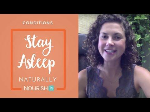 Having trouble sleeping? Learn 3 great ways to help STAY asleep naturally.