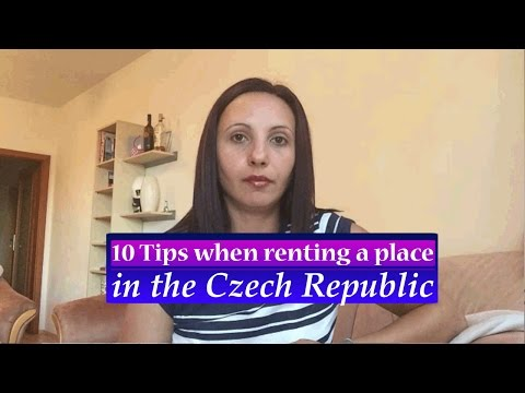 10 Tips when renting a FLAT in Czech Republic