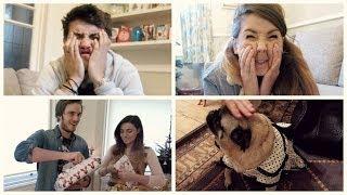 Christmas Presents with Zoella, PewDiePie & Marzia | Vlogmas