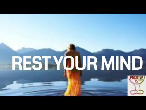 Rest Your Mind - 10 Minute Guided Meditation on Letting Go Of Overthinking, Stressful thoughts