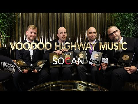 Voodoo Highway Music with SOCAN