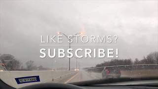 Caught driving in an East Texas hail storm | February 6, 2018